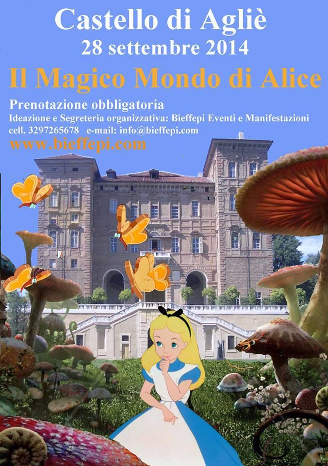 il mondo di Alice - Castello di Agliè